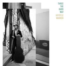 KRYSTLE WARREN-THREE THE HARD WAY-JAPAN CD BONUS TRACK F25