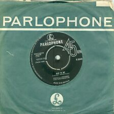 BILLY J.KRAMER/DAKOTAS - BAD TO ME/CALL YOUR NAME ( BEATLES COVERS) U.K. 7'1963