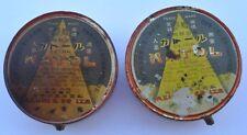 1920s Japan Japanese KATOL EXTRA INSECT KILLER Tin Box Set of Two