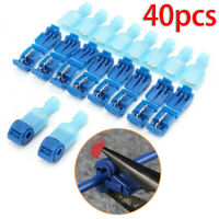 Connector Clamps Clip Set Electrical Cable Wire Quick Connect Terminals Crimp