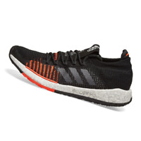 ADIDAS MENS Shoes Pulseboost HD - Black, Grey & Red - F33909
