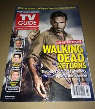 Andrew Lincoln IN PERSON PROOF Authentic Hand Signed Magazine THE WALKING DEAD