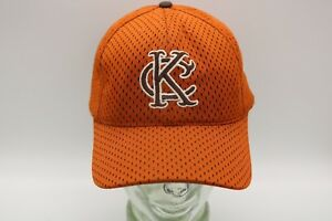 KC KANSAS CITY  EMBROIDERED MESH  FITTED HAT BASEBALL CAP NEW SIZE 7 1/4