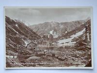 Gran San Bernardo Albergo Italia Ospizio Aosta vecchia cartolina