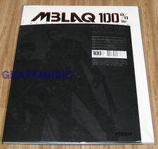 MBLAQ M-BLAQ 4th Mini Album 100% Ver K-POP CD + POSTER IN TUBE CASE SEALED