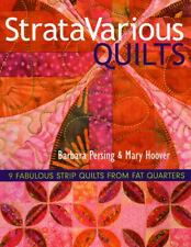 StrataVarious Quilts: 9 Fabulous Strip Quilts from Fat Quarters by Persing, Bar