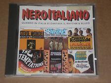 NERO ITALIANO (STEVIE WONDER, TEMPTATIONS, SMOKEY ROBINSON) - RARO CD