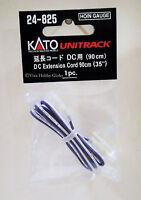 "Kato 24825 HO/N Gauge Unitrack DC Extension Cord 90cm(35"") 1pc. New"