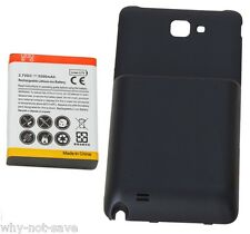 Replacement Extended battery & cover for Samsung Galaxy Note GT-N7000 SGH-I717