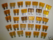 Lot of 30 5A Car, Boat, Truck, Mower 12 Volt 5Amp Fuse