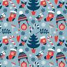 40*50CM Weihnachten Stoff DIY Patchwork Elk Garland Tuch Batsel Party Decor