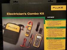 Kit Combo Electricistas Multímetro Fluke 117/323 ** Nuevo en Caja ** Precio de venta sugerido por el fabricante $295