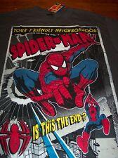 Your Friendly Neighborhood SPIDER-MAN T-Shirt MEDIUM NEW w/ TAG  Marvel Comics