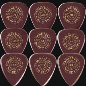 Dunlop Primetone Standard Smooth Guitar Picks / Plectrums - Choice Of 9 Gauges