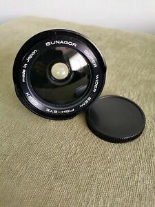 Sunagor Super Wider Semi Fisheye Auxillary Lens.