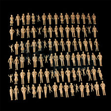 100 pcs. only Standing Architecture Model People 1:32 Figures 1 Gauge Supplies