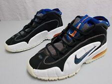 hot sale online dab4d 8b6df Nike Air Max Penny B Men s 624017 041 Black Blue White Basketball Shoes  Size 9
