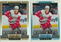 2019-20 O-Pee-Chee Glossy LOT BLUE GOLD R-5 Filip Zadina Red Wings