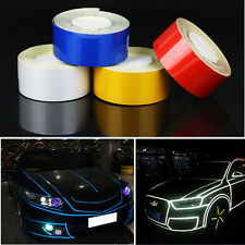 1Roll Car Reflect Light Truck Joint Strip Stickers Warning PVC Decoration Decal
