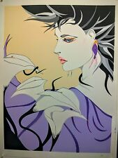 """Steve Leal - """" Julia""""  hand signed and numbered serigraph"""