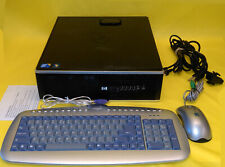 HP Compaq 8000 Elite SFF Intel Core 2 Duo E7500 2.93Ghz 4GB RAM 1TB WIN 7 com PC