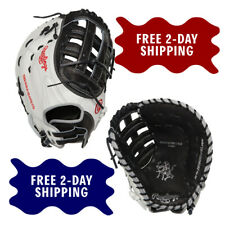 RAWLINGS HEART OF THE HIDE 13-INCH FASTPITCH SOFTBALL FIRST BASE GLOVE PROFM19SB