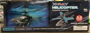 X-Ray Helicopter Clear Infrared Radio Control Indoor Helicopter 3.5 Channel