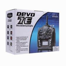 New Walkera 7 Channel Devo 7E 2.4G DSSS Radio Control Transmitter Model 2 US