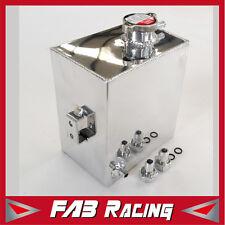 Universal Aluminum Radiator 2.5L Overflow Coolant Tank Expansion Bottle