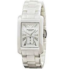 Polierte quadratische Armbanduhren mit Datumsanzeige für Damen