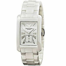 Emporio Armani Armbanduhren aus Keramik mit Datumsanzeige