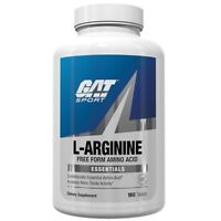 GAT L-ARGININE Amino Acid  Nitric Oxide Booster, 180 tabs BUILD MUSCLE - SALE