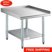 """30"""" x 24"""" Stainless Steel Table Commercial Mixer Grill Heavy Equipment Stand"""