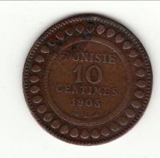 TUNISIE 10 CENTIMES CUIVRE 1903 A