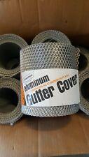 """Homeshield Aluminum Gutter Cover Shield 25 Feet FITS 5"""" GUTTERS"""