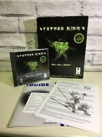 Rare Vintage COMPLETE Stephen King's F13 Horror IBM Macintosh Big Box PC Game