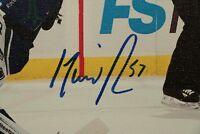 David Perron St. Louis Blues SIGNED AUTOGRAPHED Canvas Auto Photo Picture NHL