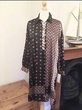 Zara Patchwork Print Oversized  Tunic Dress Size S UK10 Bnwt
