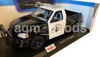 Maisto 1:18 Scale - Ford F150 Police  - Diecast Model Car