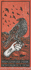 Widespread Panic Broomfield Co 1st Bank Center 11/1/14 Concert Poster Mint