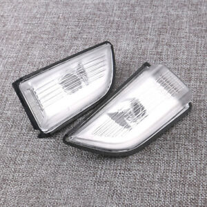 New Front Side Mirror Turn Signal Lamp Lens for VOLVO XC60 2009-2013 LH+RH
