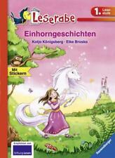 Leserabe Erstleser Einhorngeschichten von Katja Königsberg