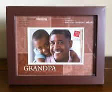 Grandpa Photo Frame/Grandfather Fathers Day Gift Wooden