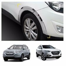 Chrome Side Wheel Fender Trim Moulding for Hyundai 2010-2015 Tucson ix35