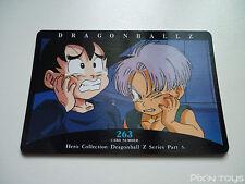Carte Dragon Ball Z Card DBZ / Hero Collection Part 3 - N°263 / NEW