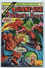 Giant-Size Fantastic Four #6 VG Marvel Comics 1975