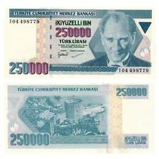 Pick 211 Türkei Turkey 250000 Lira 1970 (1998)  Unc. / 3213689vvv
