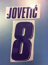 fiorentina kit JOVETIC viola plastica Nameset maglia calcio lotto