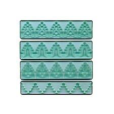 FMM Cutter Textured Lace Set 3 Decorative Fondant Cutting Tool Cake Icing Decor