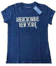 Abercrombie & Fitch By Hollister Women's Graphic T Shirt Logo Tee Free Shipping